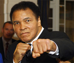Boxing champ Ali to lead host of stars in Olympics opening ceremony