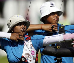 Indian archers get the first feel of hallowed turf at Lord`s