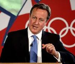 Cameron 'confident' Olympics security 'on track'