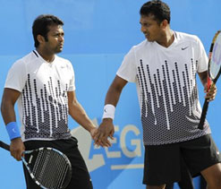 Tough draw for Indians in men`s doubles tennis