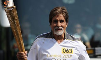 London Olympics: Proud moment for India as Big B carries the torch