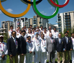 Indian athletes` London tryst amid soaring expectations