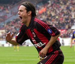 Pippo Inzaghi walks off as a legend