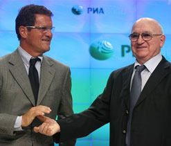 Fabio Capello becomes new coach of Russia