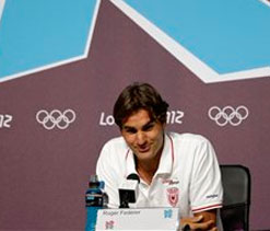 London Olympics: Federer acknowledges he`s favourite