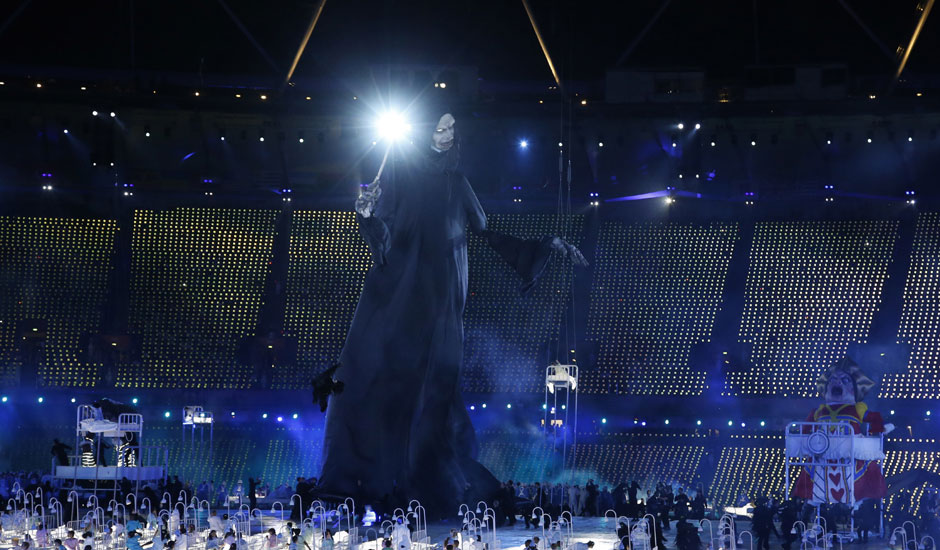 The News Track: London Olympics 2012 Opening Ceremony Photos