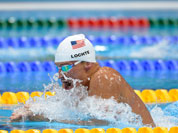 USA`s Ryan Lochte competes in a heat of the men`s 400-meter individual medley at the Aquatics Centre in the Olympic Park during the 2012 Summer Olympics in London.