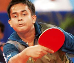 Olympics: Indian paddler Ghosh wins; Ankita exits