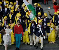 London Olympics: India clueless about mystery woman at march past