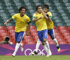 London 2012 football: Brazil are favourites