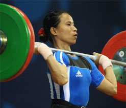 Soniya finishes 7th in 48kg weightlifting