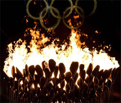Invisible flame is burning issue of London Games