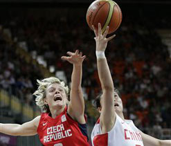 London Olympics Basketball: China beat Czechs, US survives