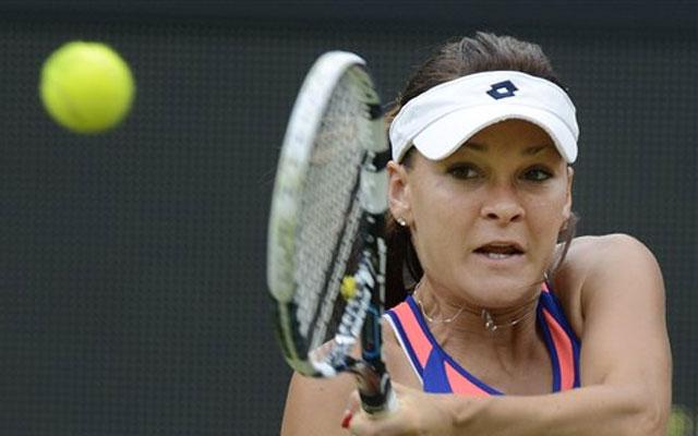 London Olympics Tennis: Goerges stuns Radwanska under Wimbledon roof