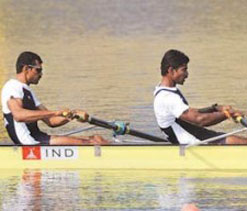 Olympics Rowing : Indian rowers Sandeep-Manjeet in repechage