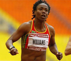 St. Kitts sprinter Williams sent home after testing positive