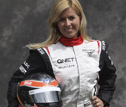F1 test driver Maria battling for life after crash