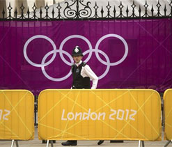 London 2012: Police lose security keys at Olympic venue