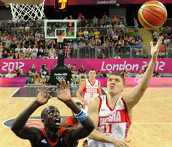 Olympics Basketball: Russia pound Britain 95-75 in Olympic basketball
