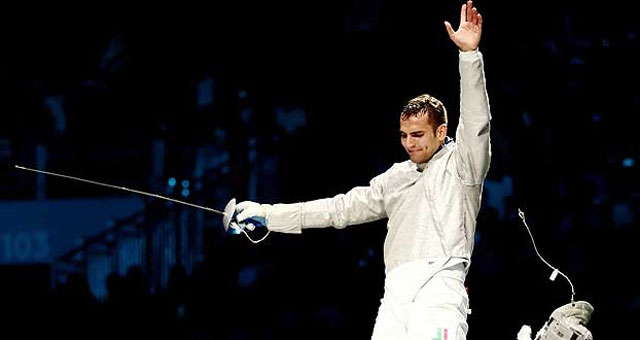 Olympic fencing: Hungarian wins men`s sabre gold