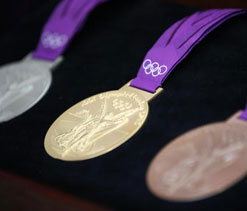 London Olympics medals worth just £3 in value!
