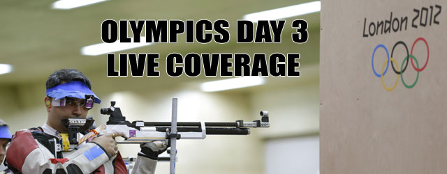 London Olympics 2012: Day 3 Highlights