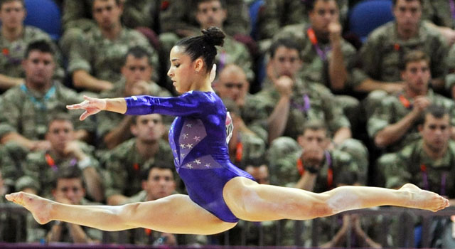 London Olympics gymnastics: USA lead the way in qualifying