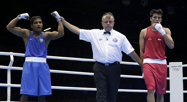 London Olympics 2012: Sangwan loses controversial bout, India lodges complaint