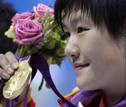 Olympics 2012: Chinese girl's 'faster swim than Lochte' sparks controversy