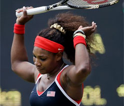 London Olympics Tennis: Serena Williams won`t compete in mixed doubles