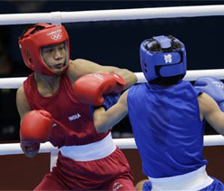 London Olympics 2012 Boxing: Power-packed Devendro storms into pre-quarters