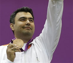 2012 London Olympics: 'Gagan' Narang on 'cloud' nine