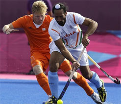 London Olympics 2012 hockey: Indian team just played for 15 minutes