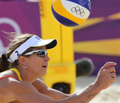 Olympic 2012 beach volleyball: Powerhouses enter knock-out stage