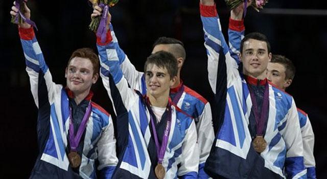 London 2012 gymnastics: China wins team gold; Great Britain get bronze