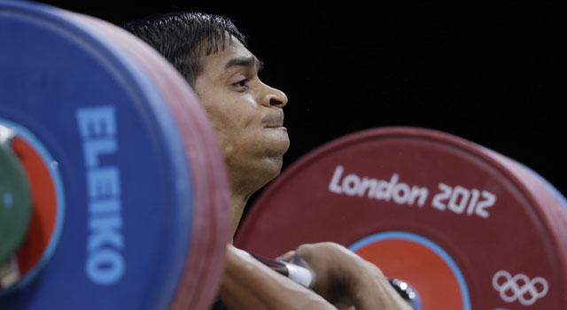 London Olympics Weightlifting: Ravi Kumar crashes out