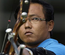 London Olympics Archery: Tarundeep Rai wins in a shoot-off