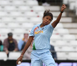 Jhulan bowls India to 14-run victory over England