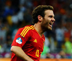 Alba, Mata and Martinez in Spain`s Olympic squad