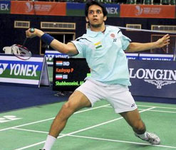 Shuttler Kashyap eyeing Oly glory after recent good showings