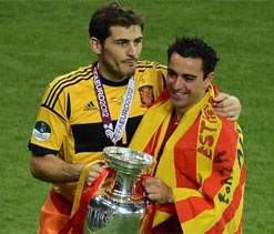 Mourinho unhappy with Xavi-Iker friendship