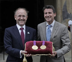 Olympic medals placed at Tower for safekeeping