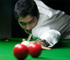 Aditya reaches last-16 in Snooker World C`ships