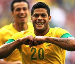 Hulk, Thiago Silva & Neymar named in Brazil squad for London Olympics