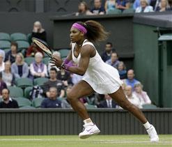 Wimbledon 2012: 24 aces help Serena Williams reach final