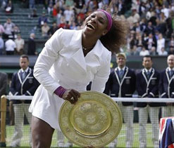 Wimbledon 2012 women's final: Serena beats Radwanska, clinches 5th title