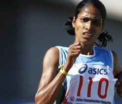 London-bound Sudha fails in Olympics `A` standard attempt
