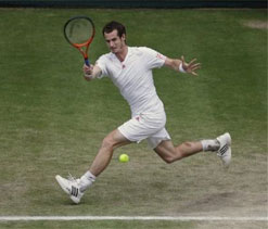 Lionel Messi is Andy Murray's inspiration