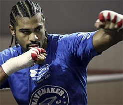 Haye seeks greater fitness from martial arts expert ahead of bout