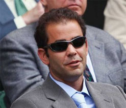 Sampras says he is now used to 'incredible' Federer breaking his records